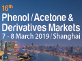 16th Phenol/Acetone & Derivatives Markets 2019